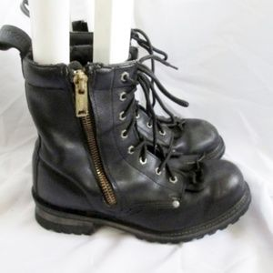 HARLEY DAVIDSON MOTORCYCLES LEATHER Moto Boot